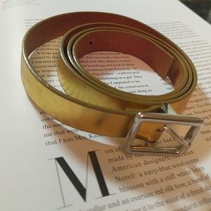 J.Crew Leather Belt Size M